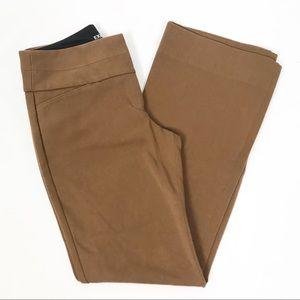 Express Brown Editor Dress Pants